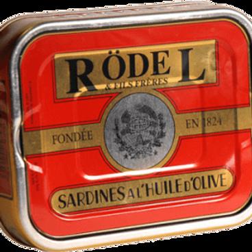 Sardinen mit Olivenöl 173g Rödel