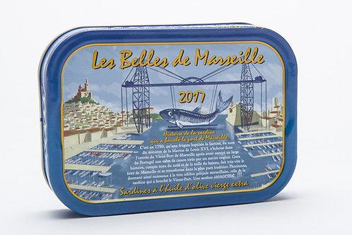 Jahrgang Sardinen 2017 Belles de Marseille