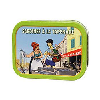 "Sardinen ""à la Tapenade"""