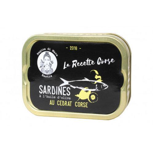 Sardinen mit korsischer Zitrone