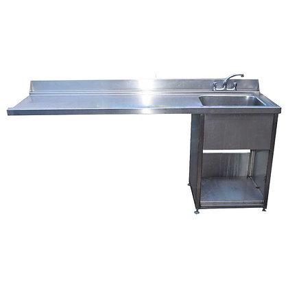 2m Stainless Steel Dishwasher Sink (SS741)
