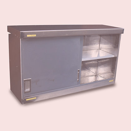 1m Stainless Steel Cupboards (SS504) x3
