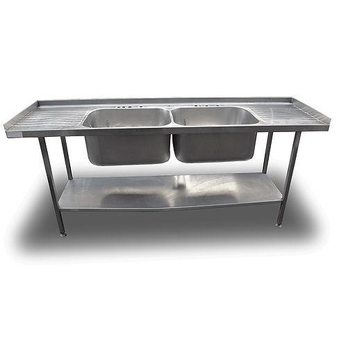 2.1m Double Stainless Sink (SS570)