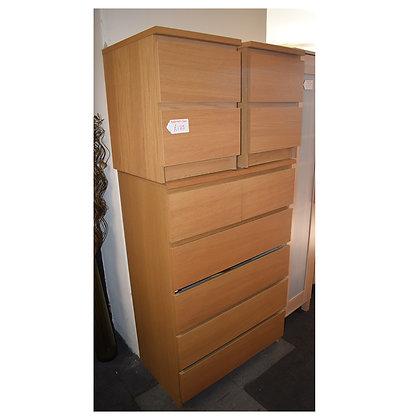 Lightwood Bedroom Set (Ref: 676)