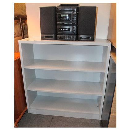 Light Grey Bookcase Ref: 354