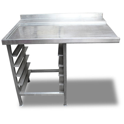 1.1m Stainless Steel Dishwasher Side Table (SS549)