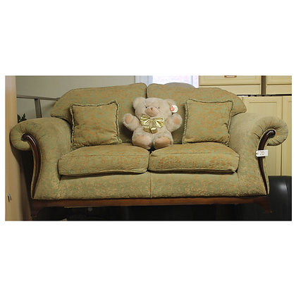 Fabric Two Seater Settee Ref: 323
