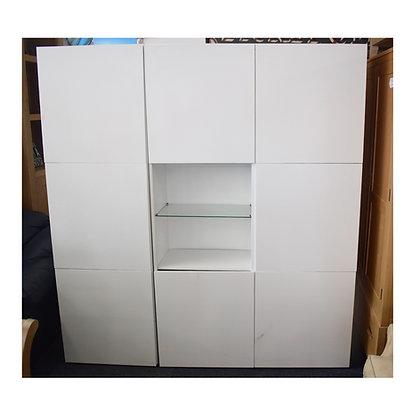 Modern White Wall Display Unit (Ref: 778)