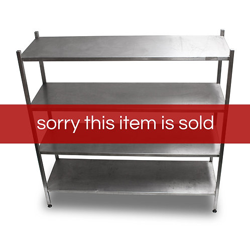 Stainless Steel Shelving (SS63)