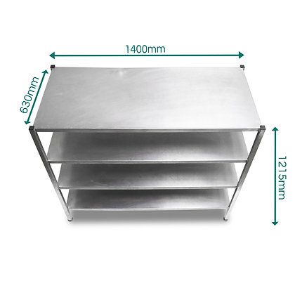 Stainless Shelving Unit (SS168)
