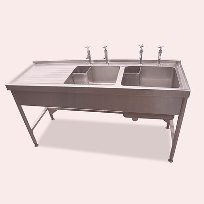 1.6m Double Sink (SS5345)