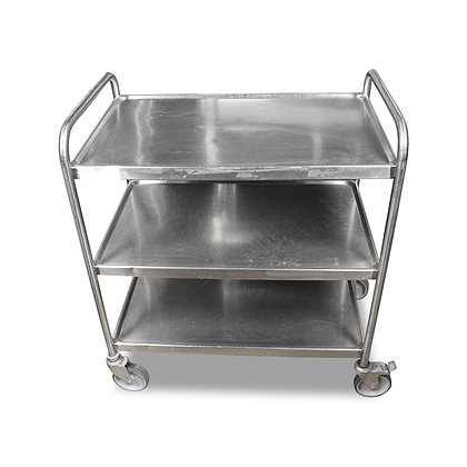 0.8m Stainless Steel Trolley (SS615)