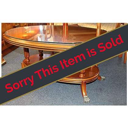 Maple Oval Coffee Table Ref: 480