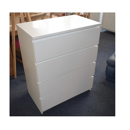 Large Modern White Chest of Drawers (Ref: 772)