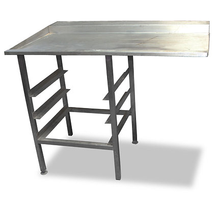 1.15m Stainless Steel Dishwasher Side Table (SS548)