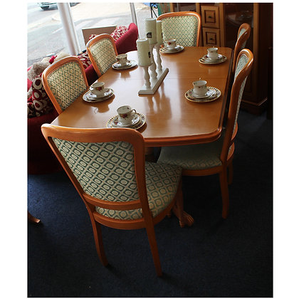 Table & Six Chairs Ref: 234