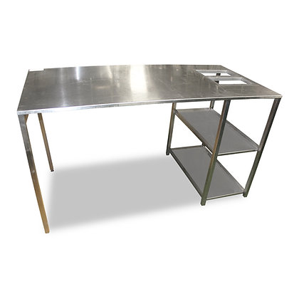 1.65m Stainless Steel Table (SS595)