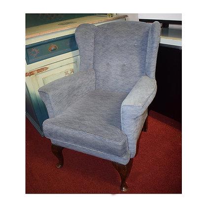 Blue Fabric Armchair (Ref: 599)
