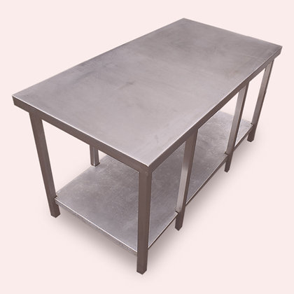 1.2m Stainless Steel Low Table (SS4799)