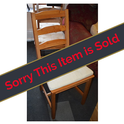 Set of Four Chairs Ref: 115