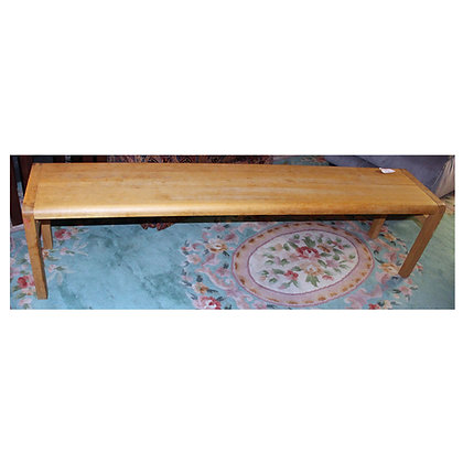 Light Wood Bench Ref: 215