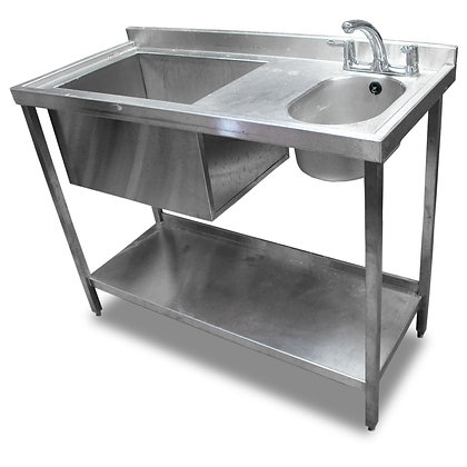 1.2m Stainless Steel Bar Sink (SS544)