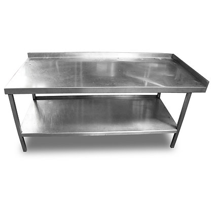 1.6m Stainless Steel Low Table (SS559)