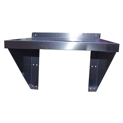 0.5m Stainless Steel Microwave Wall Shelf (SS738)