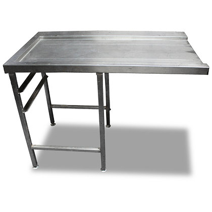 1.2m Stainless Steel Dishwasher Side Table (SS546)
