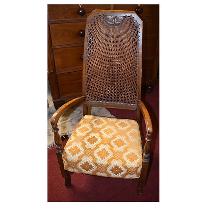 Antique High Back Chair Ref: A433