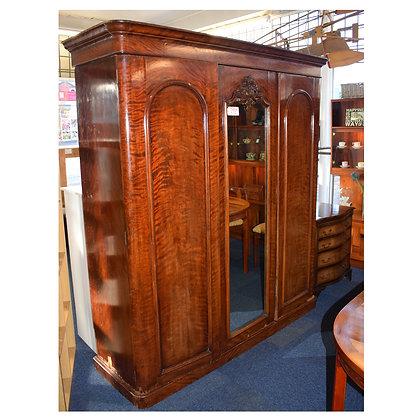 Antique Mahogany Wardrobe Ref: 561