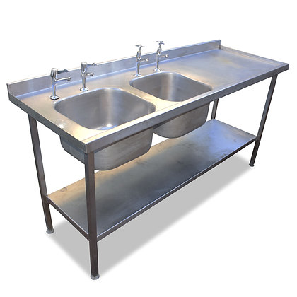 1.8m Double Sink (SS5296)