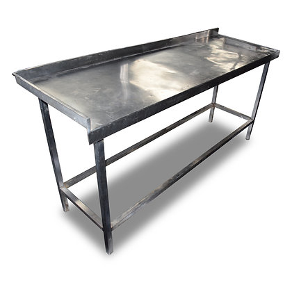 1.8m Stainless Steel Table (SS334)