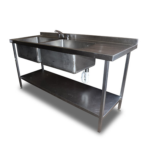 1.8m Double Sink (SS580)