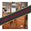 Thumbnail: Darkwood Dressing Table + Stool & Mirror (Ref: 745)