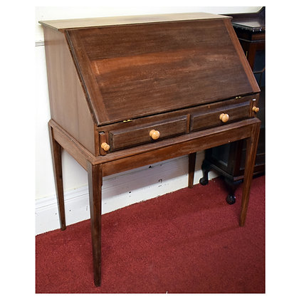 Dark Wood Writing Desk Ref: 430
