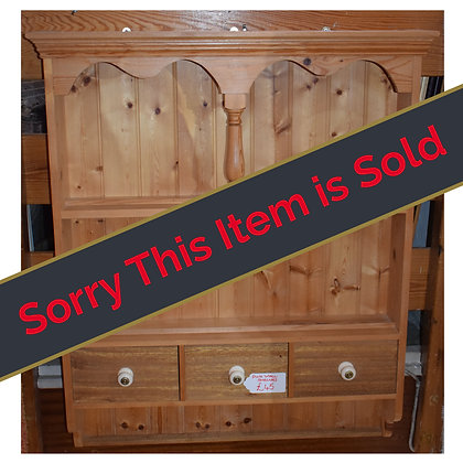 Pine Wall Shelves Ref: 564