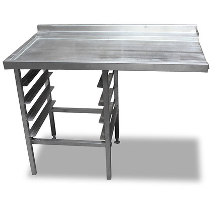 1.2m Stainless Steel Dishwasher Side Table (SS550)