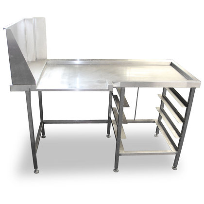 1.36m Corner Dishwasher Table (SS512)