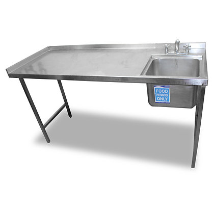 1.8m Stainless Steel Single Sink (SS538)