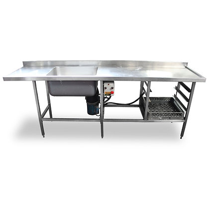 2.4m Stainless Steel Dishwasher Sink (SS511)
