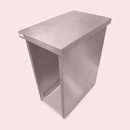 0.4m Stainless Steel Filler Table