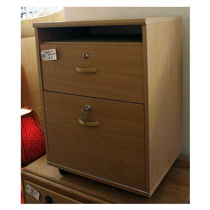 Light Wood Lockable Drawers Ref: 311