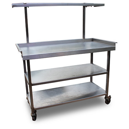 1.2m Stainless Bench with Gantry (SS5014)