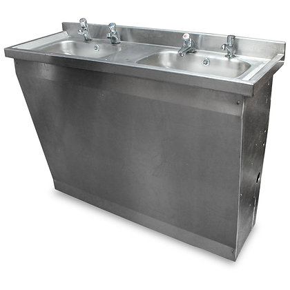 1.2m Double Hand Sink Unit (SS545)
