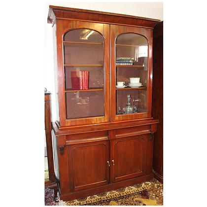 Mahogany Victorian Bookcase Ref: A460