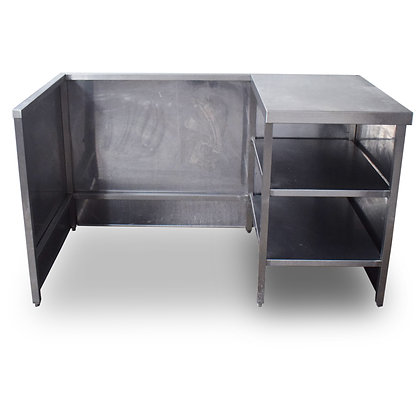 1.5m Stainless Steel Storage Unit (SS802)