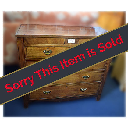 Early Victorian Chest of Drawers Ref: 409
