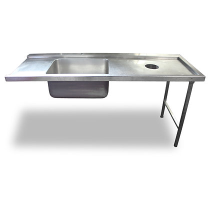 1.8m Stainless Steel Dishwasher Sink (SS509)