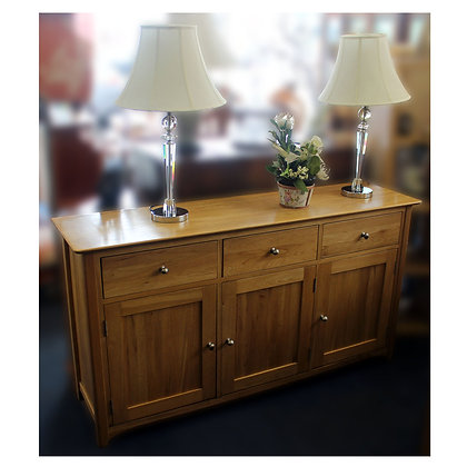 Light Oak Sideboard Ref: 377